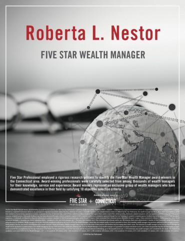 Five Star Wealth Manager 2018 Globe Photo